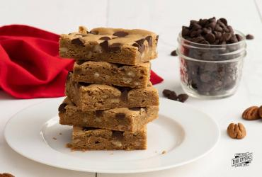 Chewy Chocolate Chip Blondies