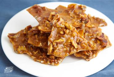 Chewy Pecan Pie Brittle Candy