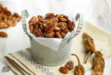 Sweet Chipotle Pecans