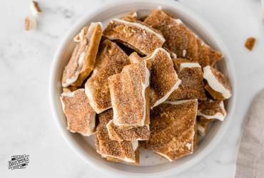 Cinnamon Sugar Toffee