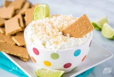 Coconut Lime Cheesecake Dip