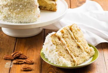 Coconut Pecan Layer Cake