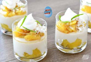 Coconut Pineapple Pudding