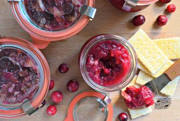 Cranberry Walnut Orange Marmalade Relish