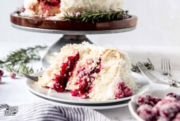 Cranberry Coconut Cake