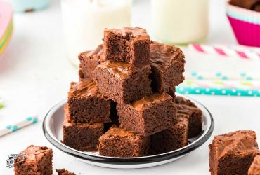 Devil's Food Brownie Bites