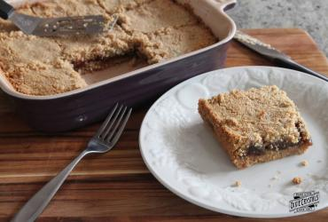 Gluten Free Fig Oat Bars