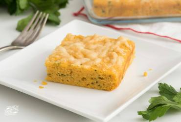 Gouda and Herb Sweet Potato Corn Bread
