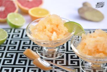 Grapefruit Mandarin Orange Lime Ginger Granita
