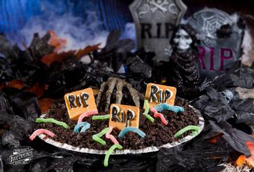 Graveyard Chocolate Pie