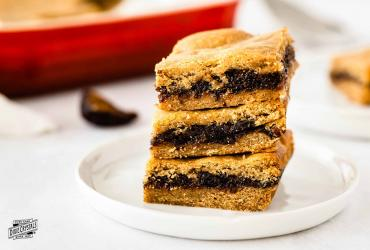 Homemade Fig Newton Bars