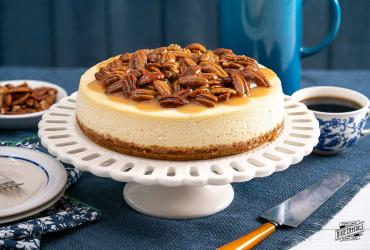 Honey Pecan Cheesecake