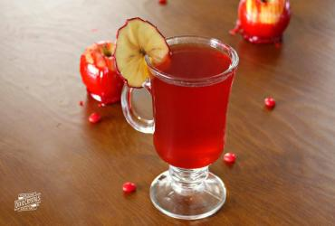 Red Hot Candy Apple Hot Toddy