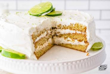 Key Lime Layer Cake Dixie