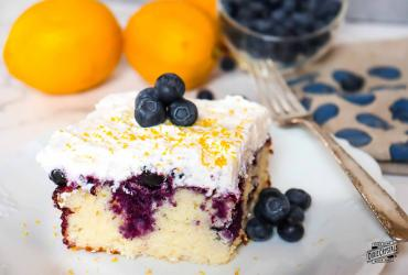 Lemon Blueberry Poke Cake Dixie Crystals