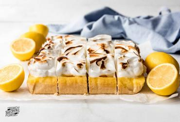 Lemon Meringue Pie Bars Dixie
