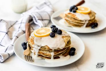 Lemon Poppy Seed Pancakes dixie
