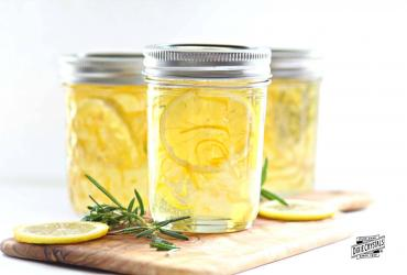 Lemon Rosemary Jelly