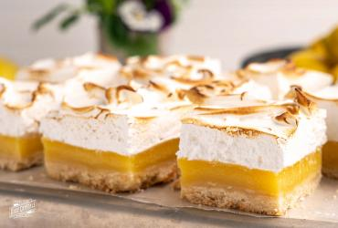 Meringue Topped Coconut Lemon Bars