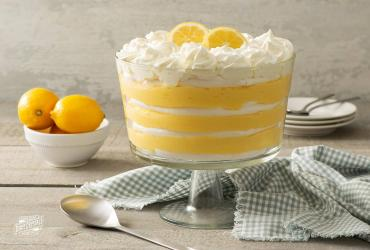 Meyer Lemon Meringue Trifle