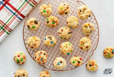 Mini M&M Sugar Cookies Dixie
