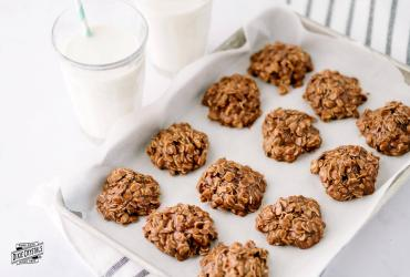 No Bake Oatmeal Chocolate Fudge Cookies