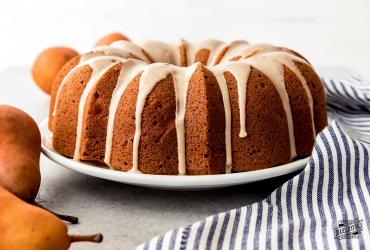 Pear Ginger Bundt Cake