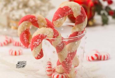 Peppermint Cookie Canes