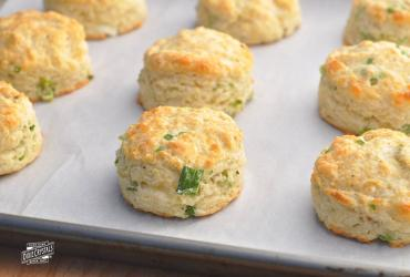 Sour Cream, Cheddar and Green Onion Biscuits