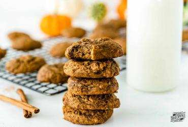 Sour Cream Molasses Spice Cookies