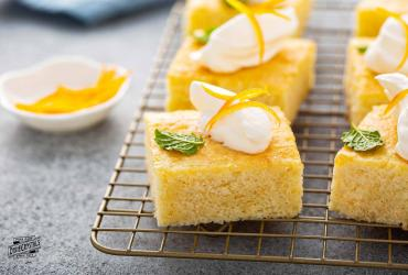 Southern Orange Coconut Cake