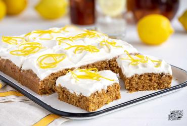 Southern Sweet Tea Lemonade Sheet Cake