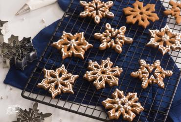 Biscoff Style Speculoos Ornament Cookies