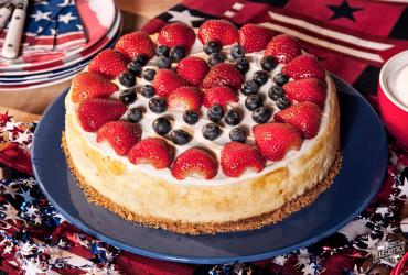Star Spangled Cheesecake