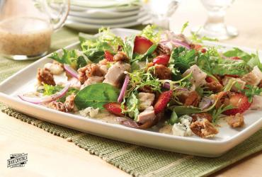 Strawberry Chicken Salad with Poppyseed Dressing