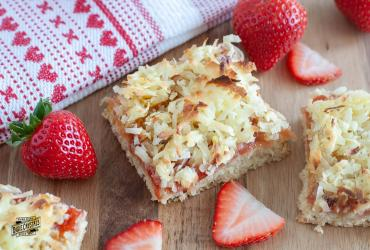 Strawberry Coconut Bars
