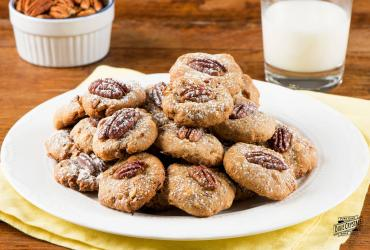White Chocolate Butter Pecan Cookies
