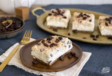 Arroz con Leche Cheesecake Bars