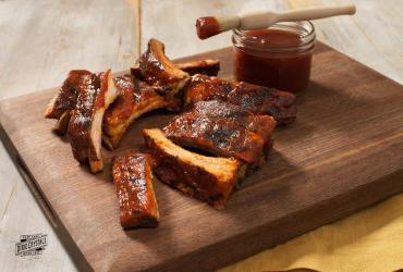Baby Back Ribs in Chipotle Barbecue Sauce
