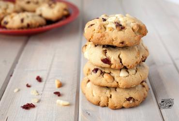 Cranberry & White Chocolate Macadamia Nut Cookies