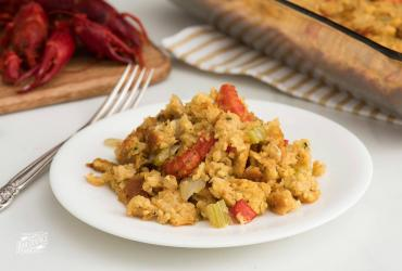 Crawfish Cornbread Dressing