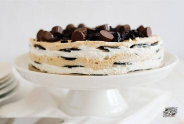 Fluffernutter Icebox Cake