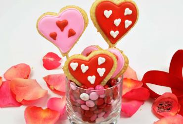 Heart Shortbread Cookies