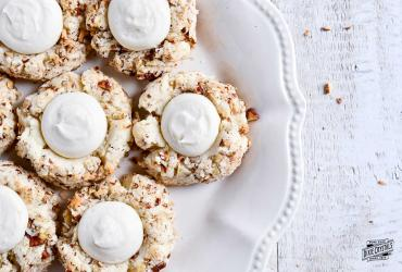 Italian Cream Cake Cookies Dixie