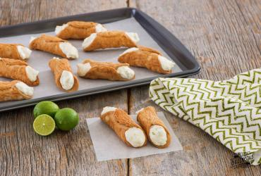 Key Lime Cannoli