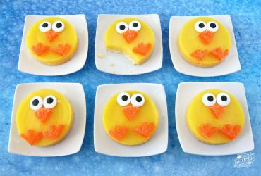 Lemon Bar Easter Chicks