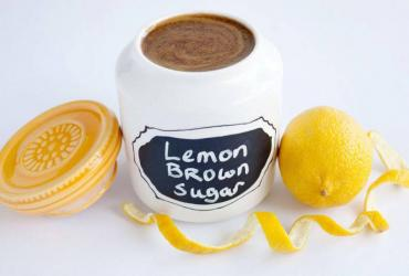 Lemon & Brown Sugar Scrub