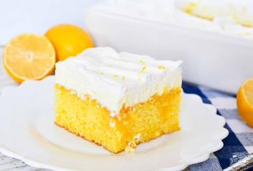 Lemon Curd Poke Cake Dixie Crystals