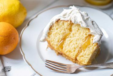 Lemon Orange Chiffon Cake