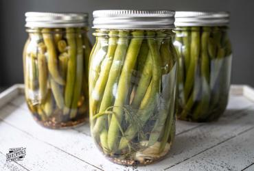 Overnight Sweet Pickled Green Beans